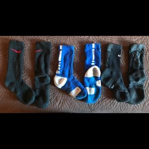 Lot of 3 Nike socks, Youth 3-5 (Women's 4-6)